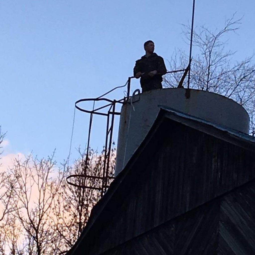 чистка водонапорной башни