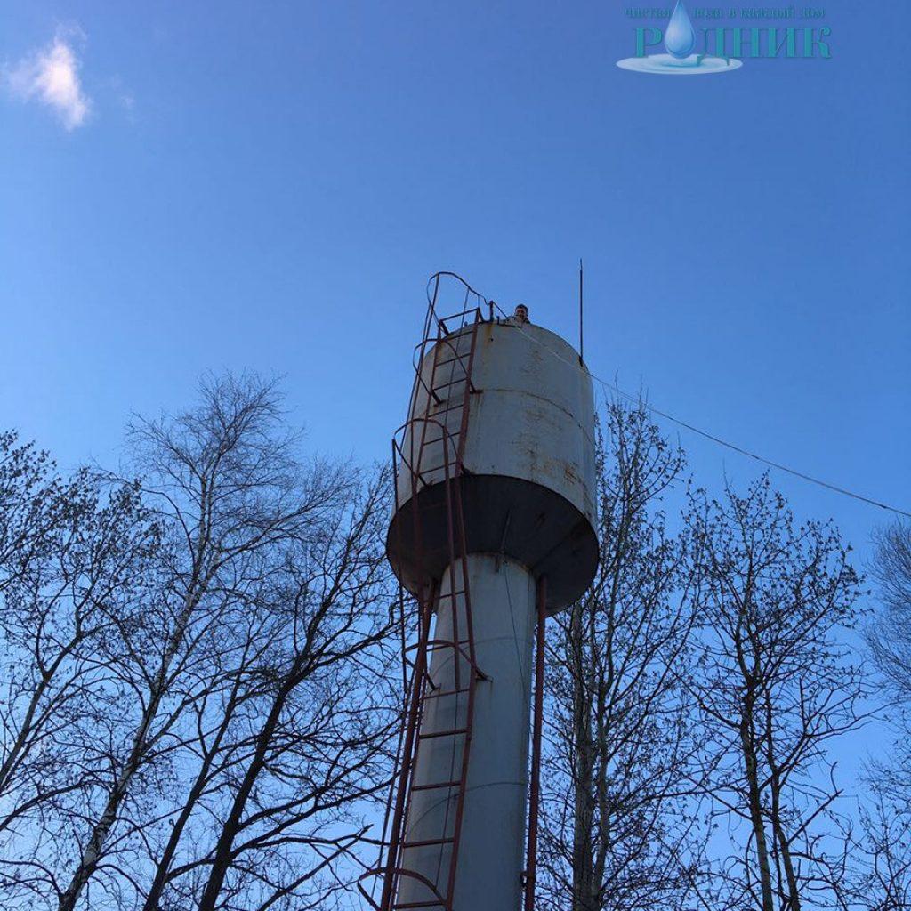 очистка водонапорной башни